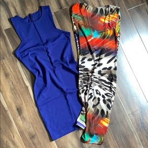 Dresses & Skirts - 😍Bundle of 2 Colorful and Sexy Dress😍